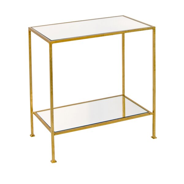2 Tier End Table by Worlds Away
