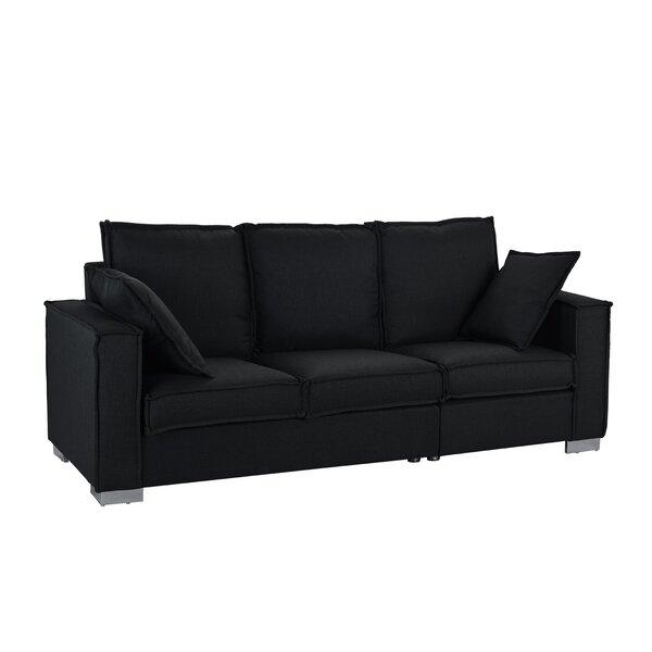 Cary Modern Fabric Sofa by Orren Ellis