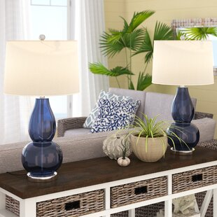 Bedside table lamps set of two wayfair save aloadofball Image collections