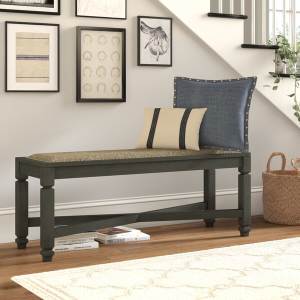 Ventanas Upholstered Bench By Canora Grey