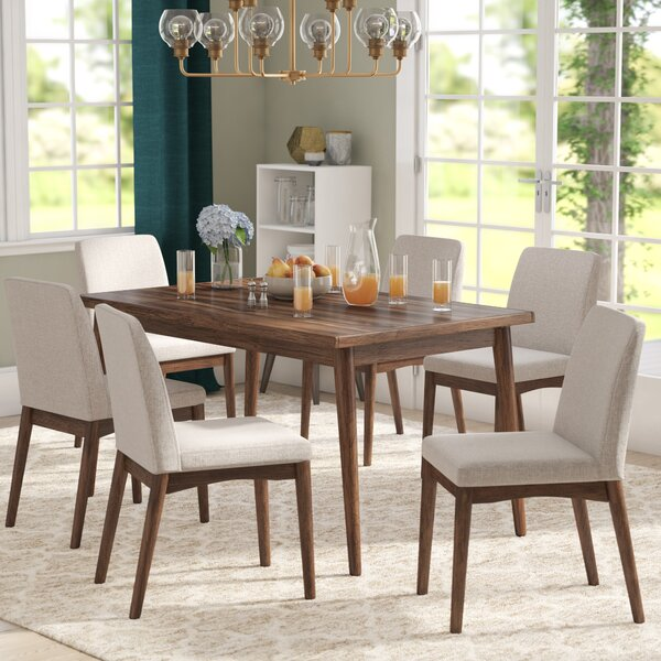Lydia 7 Piece Dining Set by Langley Street