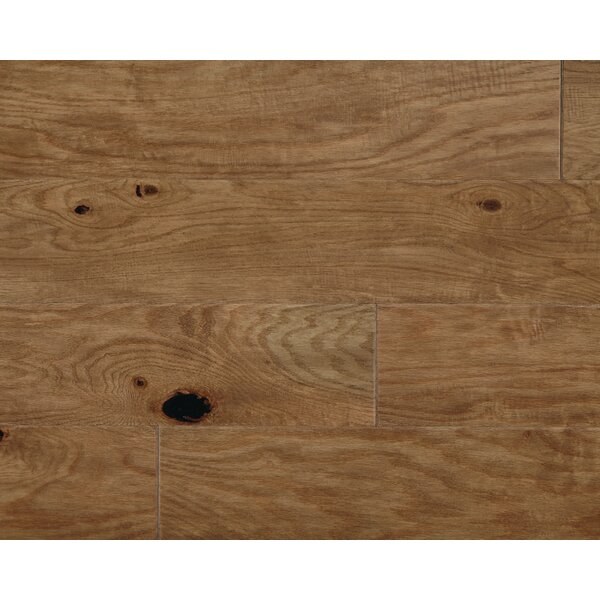 Rock Creek Plank 6-1/3 Engineered Oak Hardwood Flooring in Fawn by Mannington