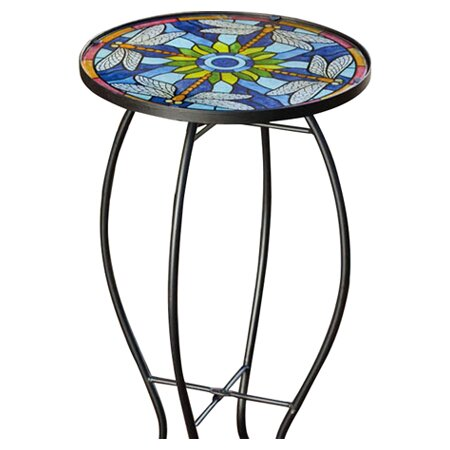 Sawyerville Glass Side Table By Charlton Home