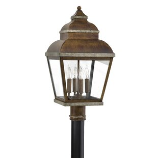 Inexpensive Saniyah Outdoor 4-Light Lantern Head By Bloomsbury Market