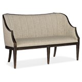 La Grange 60.5'' Recessed Arm Settee by Hooker Furniture