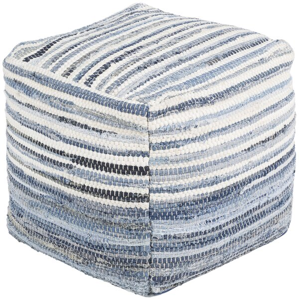 Audriana Natural Fiber Pouf by Zipcode Design