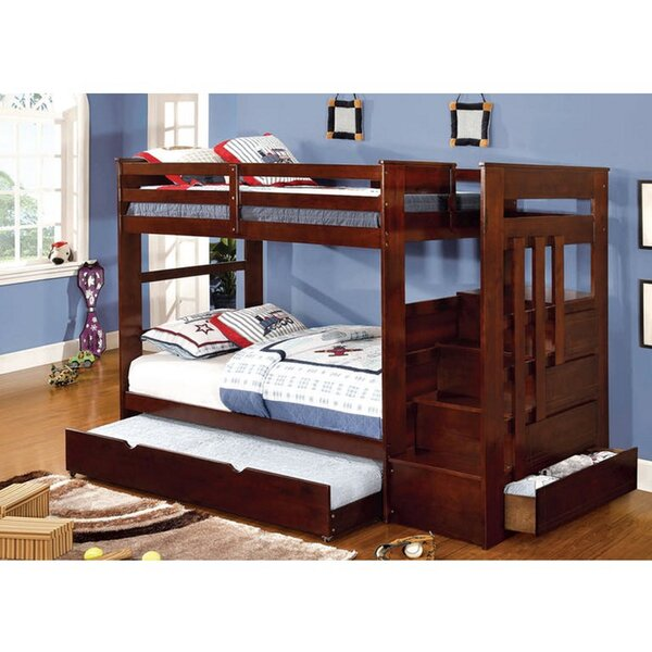 Kagan Twin Over Full Bunk Bed by Harriet Bee