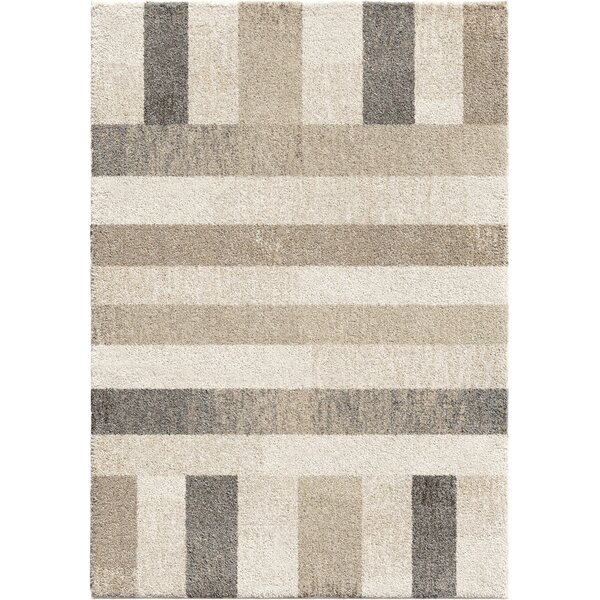 Charron Plush Ivory Area Rug by George Oliver