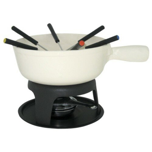 Cuistot 1.5 qt. Cheese Cast Iron Fondue Set by MyCuisina