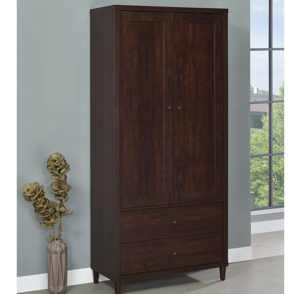 Ritzman Wooden Armoire by Charlton Home