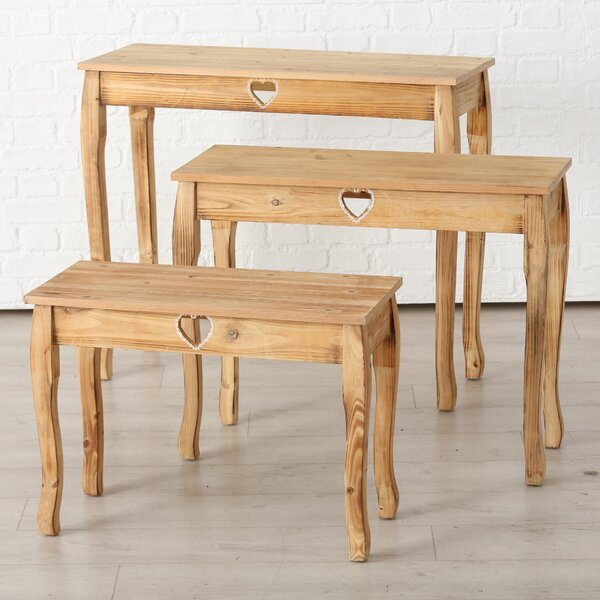 Isaias 3 Piece Console Table Set By August Grove