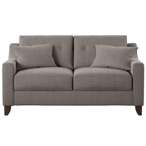 Logan Loveseat by Wayfair Custom Upholstery™