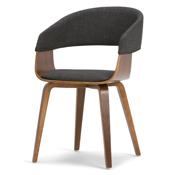 Hannigan Bentwood Upholstered Dining Chair by George Oliver