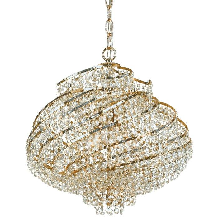 Af lighting lyric 4 light crystal chandelier reviews wayfair lyric 4 light crystal chandelier aloadofball Gallery