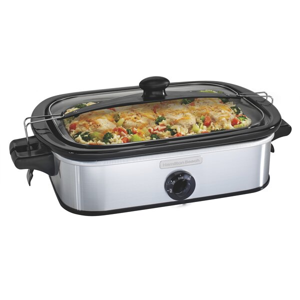 3.5-Qt Stay or Go Casserole Slow Cooker by Hamilton Beach