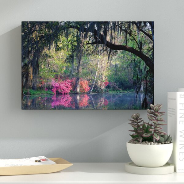 Morning Serenity Photographic Print on Wrapped Canvas by Latitude Run