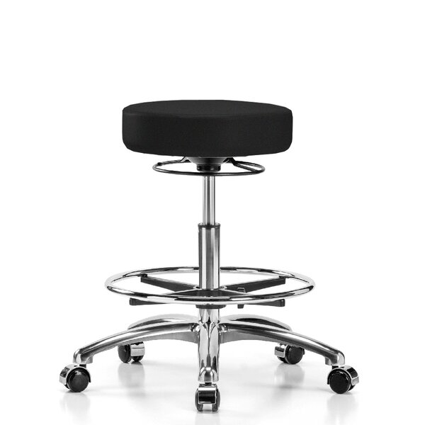 Height Adjustable Medical Stool with Foot Ring by Perch Chairs & Stools