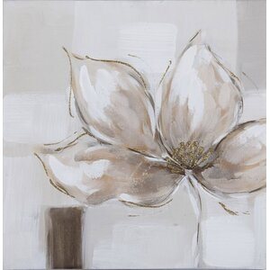 'Flower and Nature' Painting Print on Canvas by La Kasa, LLC