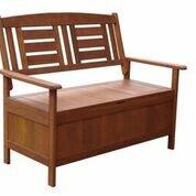 Kalbarri Wooden Storage Bench by Lautan LLC Lautan LLC