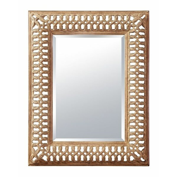 Rosenthal Wall Accent Mirror by Astoria Grand