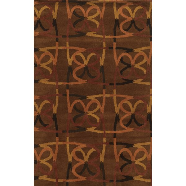 Bridgetown Hand-Tufted Espresso Area Rug by Meridian Rugmakers