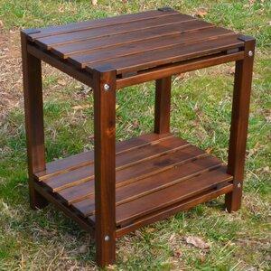 Glen Ullin Slat Top End Table by Laurel Foundry Modern Farmhouse