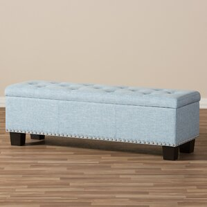 Back Bay Upholstered Storage Bench by ..