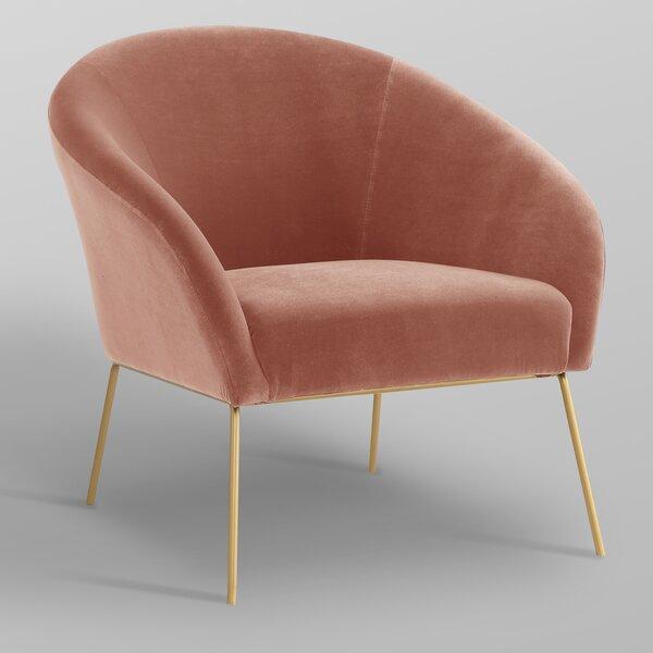 Achilles Barrel Chair By Nicole Miller