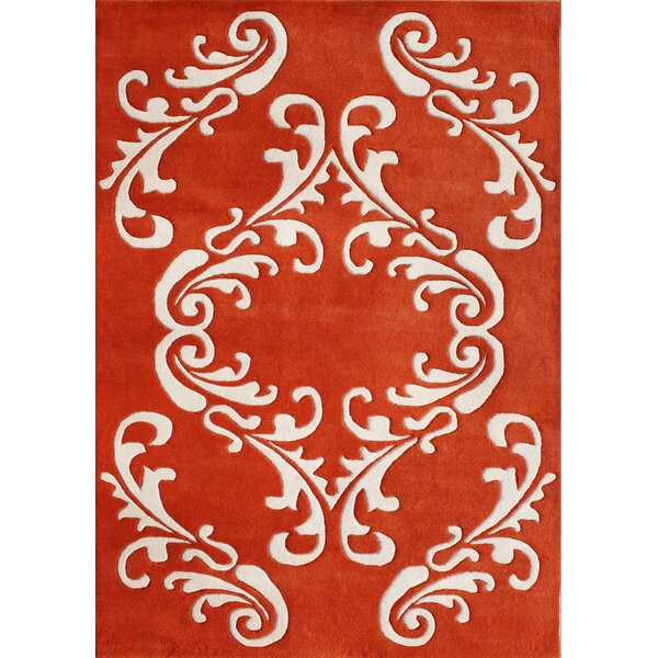 Alliyah Cherry Tomato Area Rug by James Bond