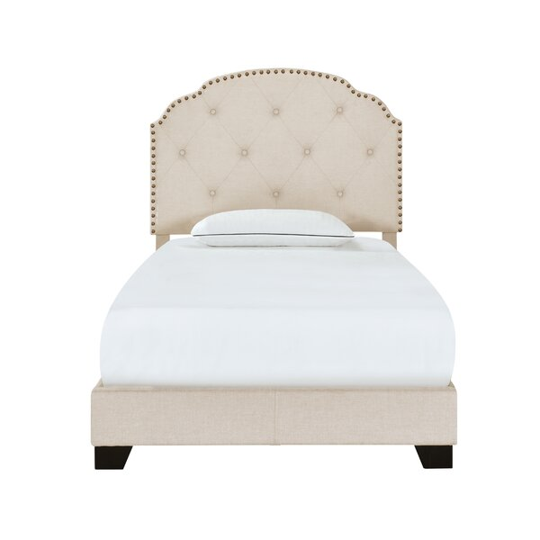 Elora Upholstered Standard Bed by Andover Mills