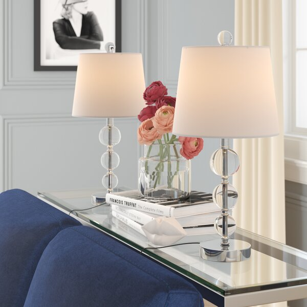 Shoreham 2 Piece Table Lamp Set by House of Hampton