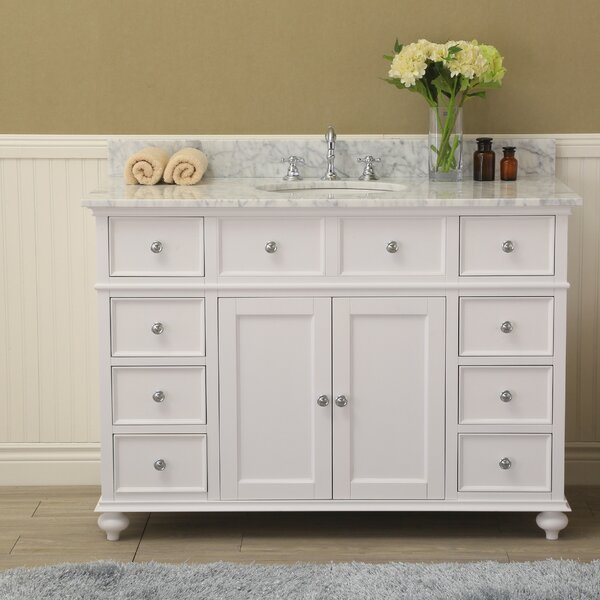 Berton 48 Single Bathroom Vanity Set by Charlton Home