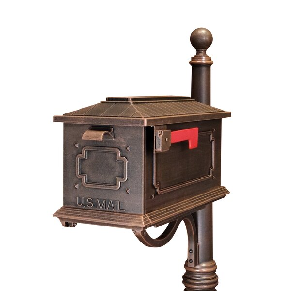Kingston Post Mounted Mailbox by Special Lite Products