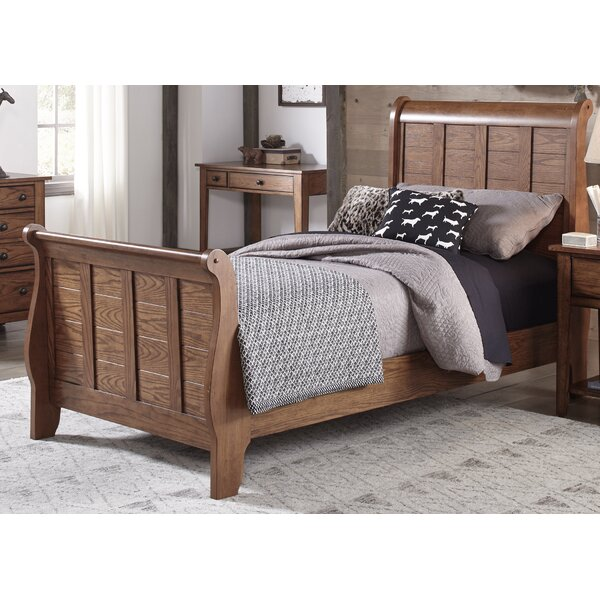 Truet Sleigh Bed by Millwood Pines