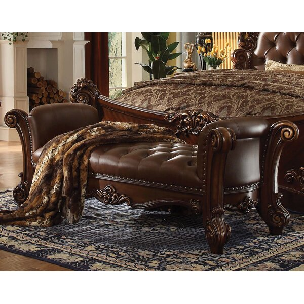 Welles Upholstered Bench by Astoria Grand