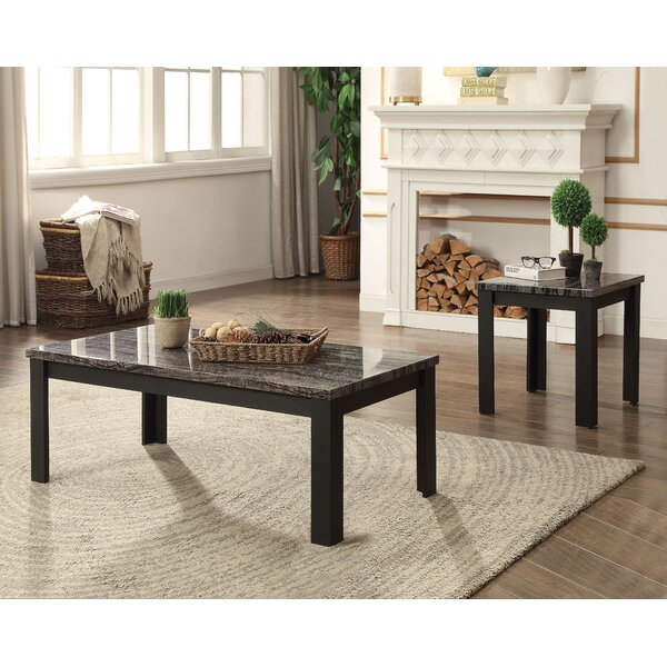 Niesen 2 Piece Coffee Table Set By Charlton Home