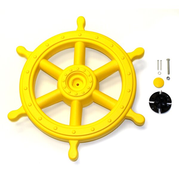 Deluxe Captains Ship Wheel by Eastern Jungle Gym