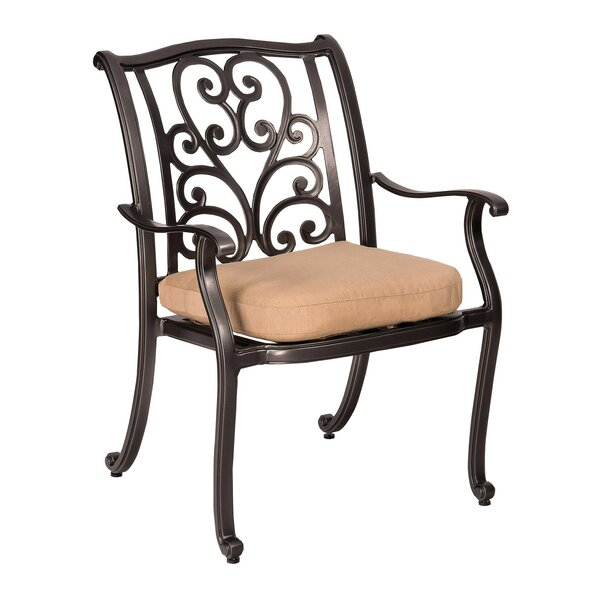 New Orleans Patio Dining Chair (Set of 2) by Woodard
