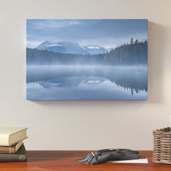 Herbert Lake I Photographic Print on Wrapped Canvas by Loon Peak
