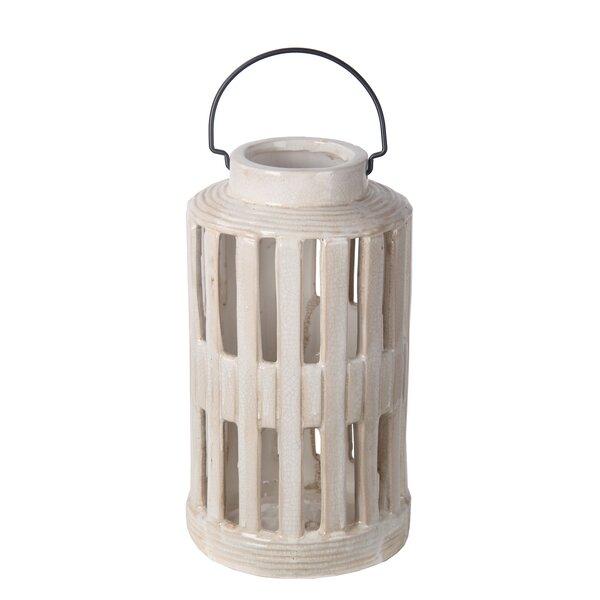 Ceramic Lantern by Laurel Foundry Modern Farmhouse