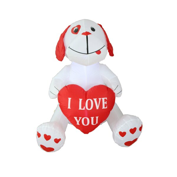 Love Puppy Christmas Decoration by BZB Goods