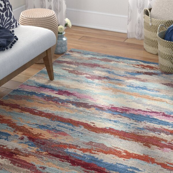 Doline Blue Area Rug by Mistana