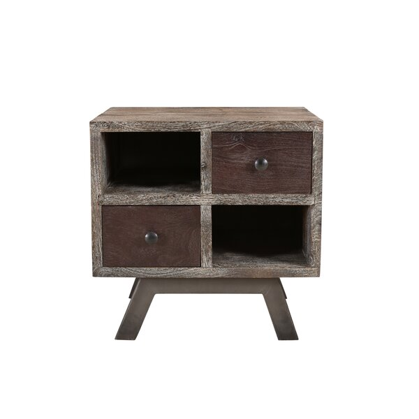 Brundidge End Table with Storage by Foundry Select Foundry Select
