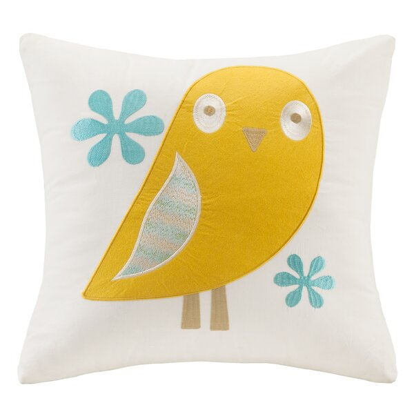 Everhart Embroidered Throw Pillow by Harriet Bee