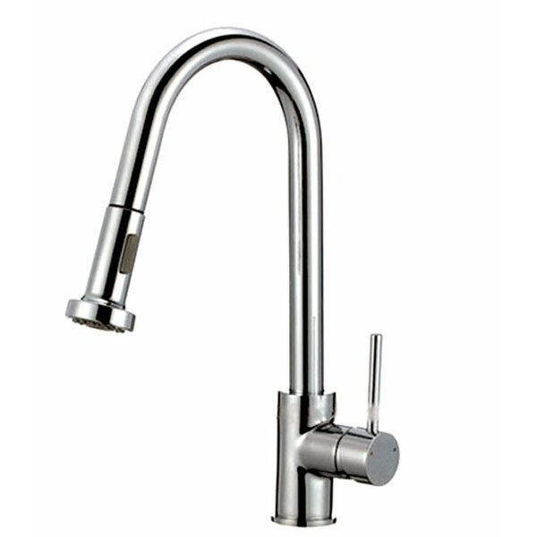 Pull Out Single Handle Kitchen Faucet by Kokols
