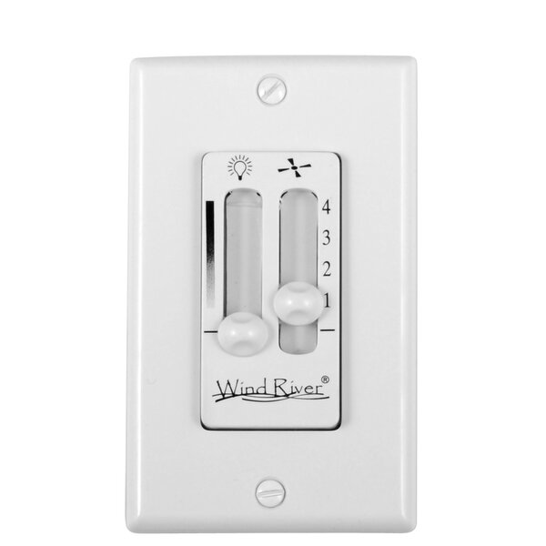 Dual Fan Light Wall Control By Wind River.