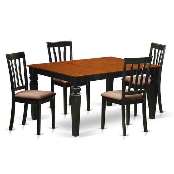 Arbouet 5 Piece Dining Set by Darby Home Co
