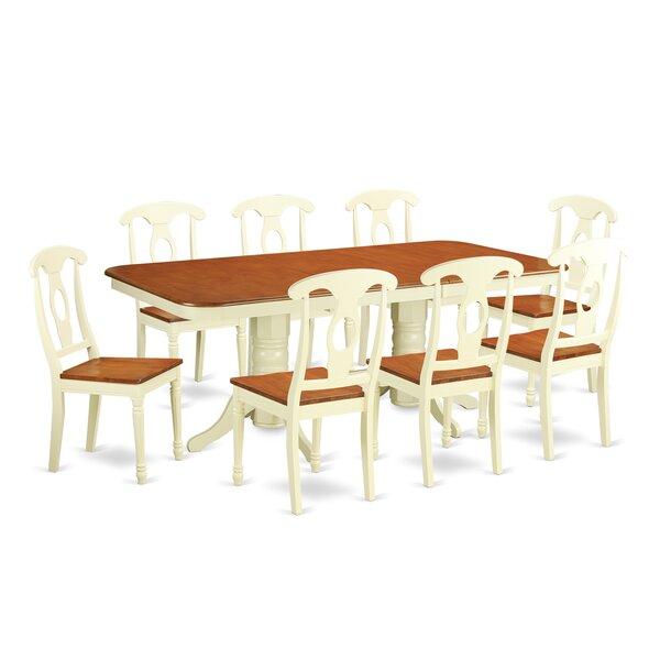 Pillsbury 9 Piece Dinning Set by August Grove