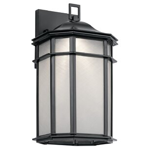 Price Check Heiss LED Outdoor Wall Lantern By Bloomsbury Market