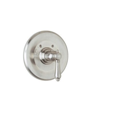 Thermostatic Valve Trim with Cross Handle and without Volume Control by Rohl